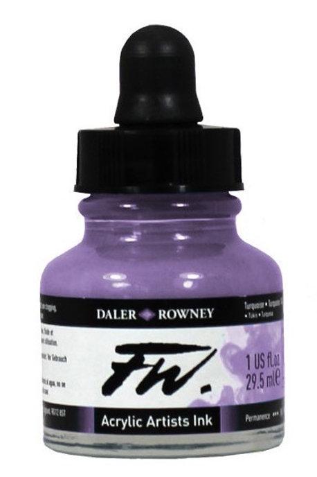 FW Acrylic Artist Ink - Velvet Violet