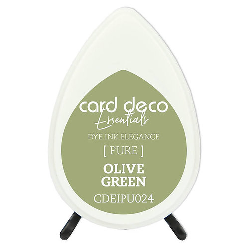 Couture Creations Card Deco Dye Ink - Olive Green