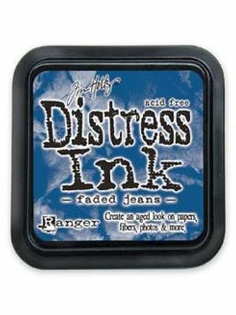 Tim Holtz Distress Ink Pad - Faded Jeans