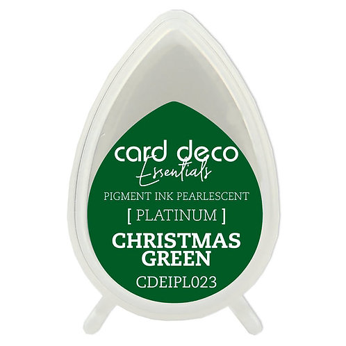 Couture Creations Card Deco Pearlescent Pigment Ink - Christmas Green