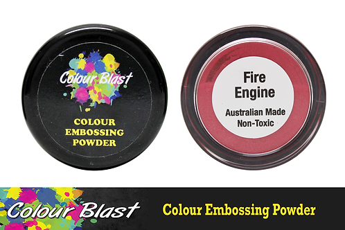 Colour Blast by Bee Arty Embossing Powder - Fire Engine