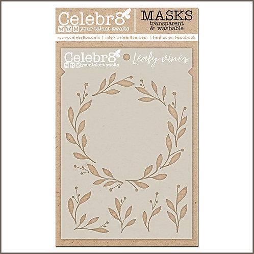 Celebr8 - Leafy Vines Stencil