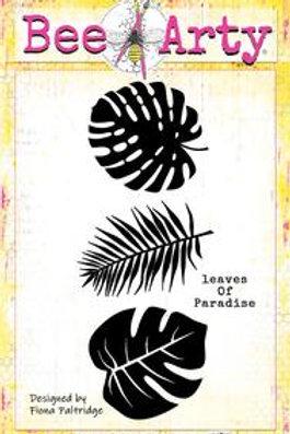Bee Arty - Find Paradise - Leaves of Paradise Metal Die