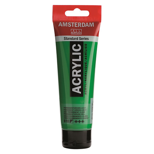 Amsterdam Standard Series Acrylic Paint - Permanent Green Light