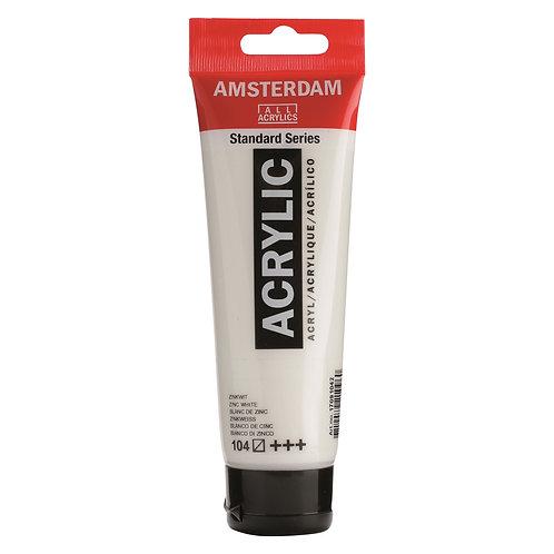 Amsterdam Standard Series Acrylic Paint - Zinc White