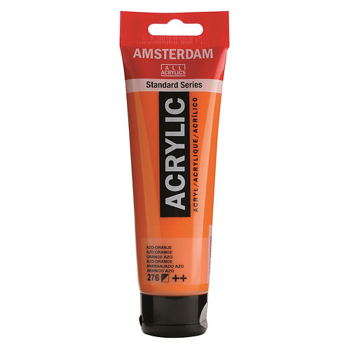 Amsterdam Standard Series Acrylic Paint - AZO Orange