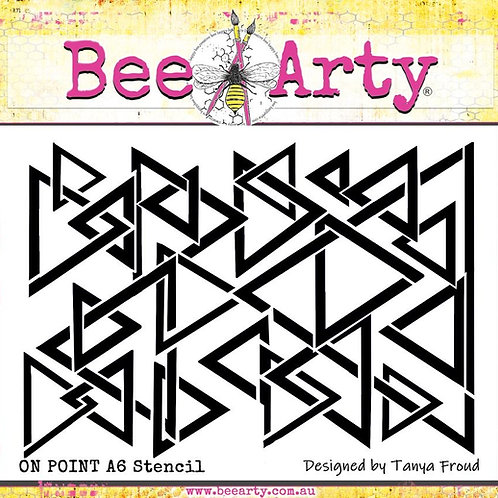 Bee Arty - three six five - On Point A6 Stencil