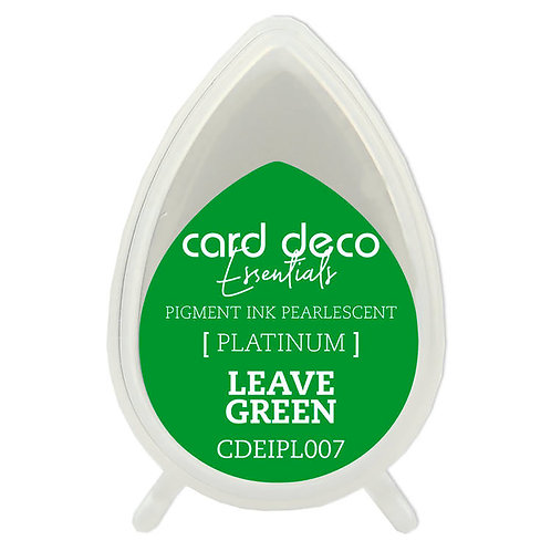 Couture Creations Card Deco Pearlescent Pigment Ink - Leaf Green
