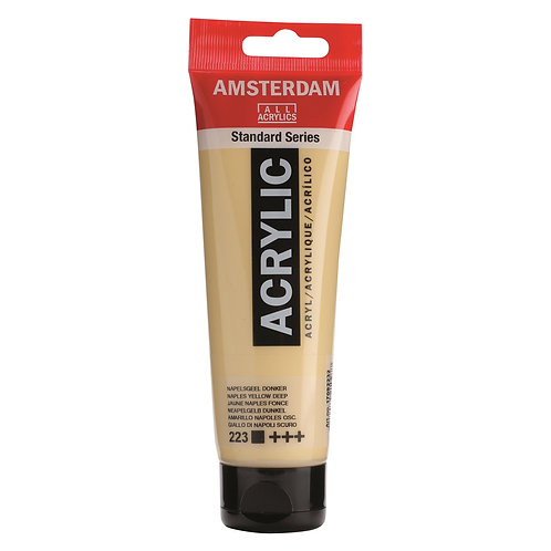 Amsterdam Standard Series Acrylic Paint - Naples Yellow Deep