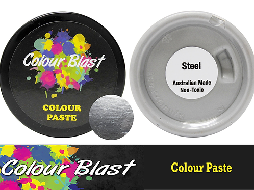 Colour Blast by Bee Arty Colour Paste - Steel