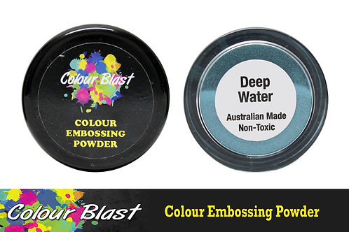 Colour Blast by Bee Arty Embossing Powder - Deep Water