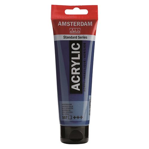 Amsterdam Standard Series Acrylic Paint - Greenish Blue