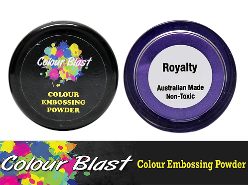 Colour Blast by Bee Arty Embossing Powder - Royalty