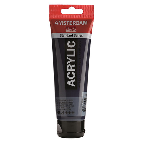 Amsterdam Standard Series Acrylic Paint - Prussian Blue Phthalo