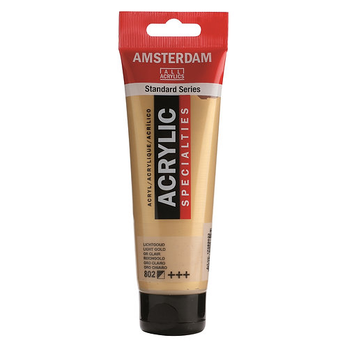 Amsterdam Standard Series Acrylic Paint - Light Gold