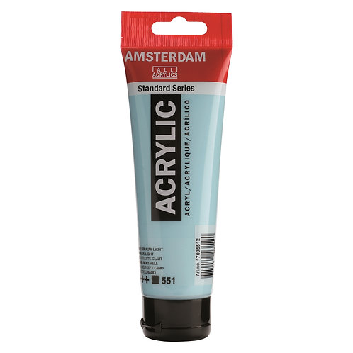 Amsterdam Standard Series Acrylic Paint - Sky Blue Light
