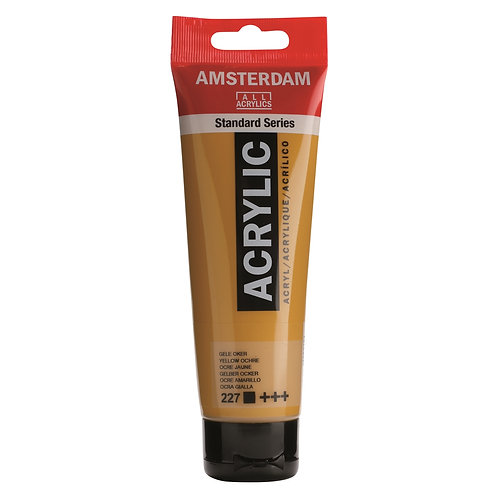 Amsterdam Standard Series Acrylic Paint - Yellow Ochre