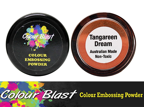 Colour Blast by Bee Arty Embossing Powder - Tangareen Dream