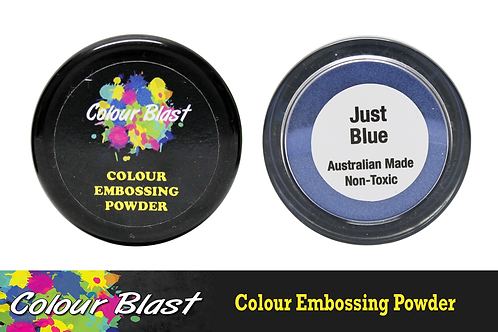 Colour Blast by Bee Arty Embossing Powder - Just Blue