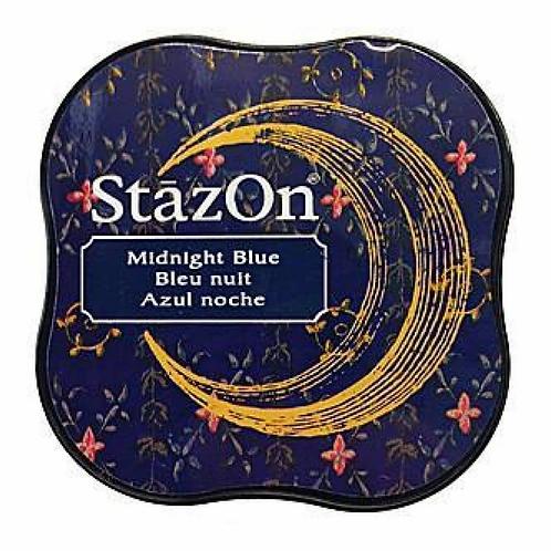 StazOn Midi Ink Pad - Midnight Blue