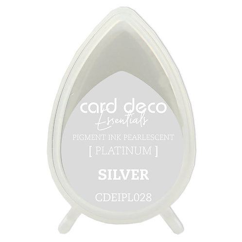 Couture Creations Card Deco Pearlescent Pigment Ink - Silver