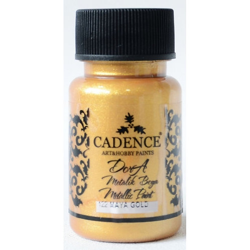 Cadence Dora Metallic Paint - 122 Maya Gold