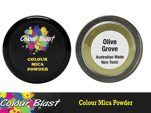 Colour Blast by Bee Arty Colour Mica Powder - Olive Grove