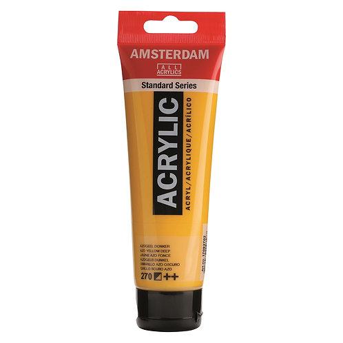 Amsterdam Standard Series Acrylic Paint - Transparent Yellow Medium