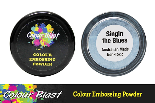 Colour Blast by Bee Arty Embossing Powder - Singin the Blues