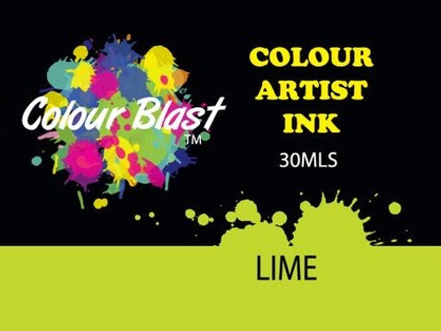 Colour Blast by Bee Arty Artist Ink - Lime
