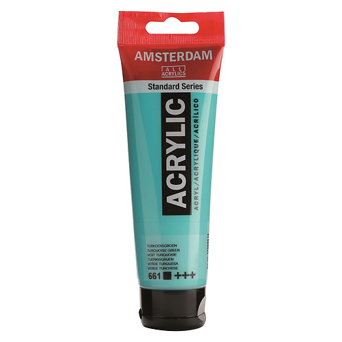 Amsterdam Standard Series Acrylic Paint - Turquoise Green