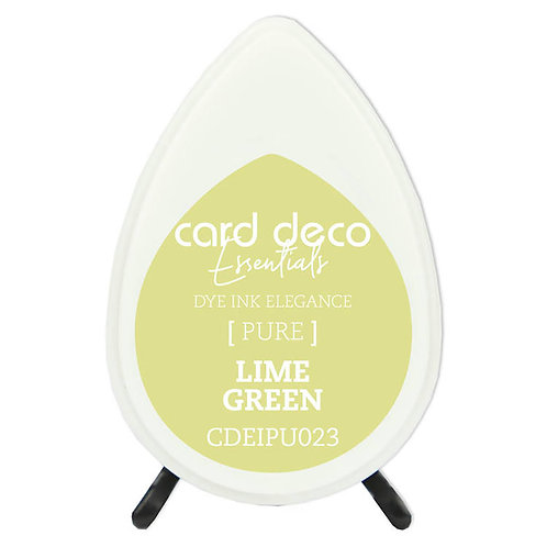 Couture Creations Card Deco Dye Ink - Lime Green