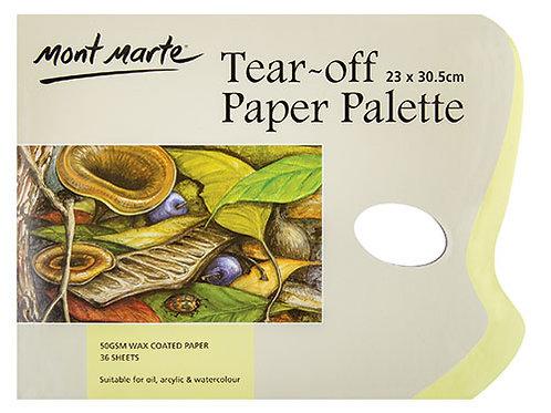 Mont Marte Tear Off Palette Pad 36 Sheet