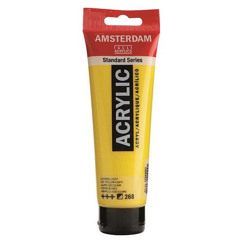 Amsterdam Standard Series Acrylic Paint - AZO Yellow Light