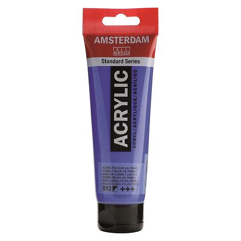 Amsterdam Standard Series Acrylic Paint - Cobalt Blue Ultramarine