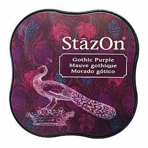 StazOn Midi Ink Pad - Gothic Purple