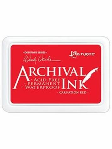 Ranger Archival Ink - Carnation Red