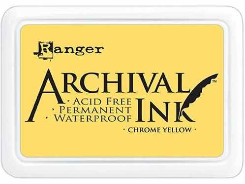 Ranger Archival Ink - Chrome Yellow