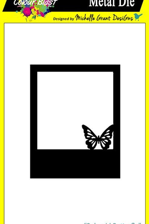 Bee Arty - Spread Your Wings - Polaroid Butterfly Metal Die