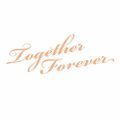 Couture Creations My Secret Love Mini Stamp - Together Forever