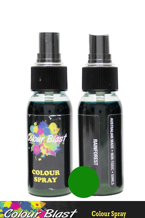 Colour Blast by Bee Arty Colour Spray - Rainforest