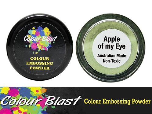 Colour Blast by Bee Arty Embossing Powder - Apple of My Eye