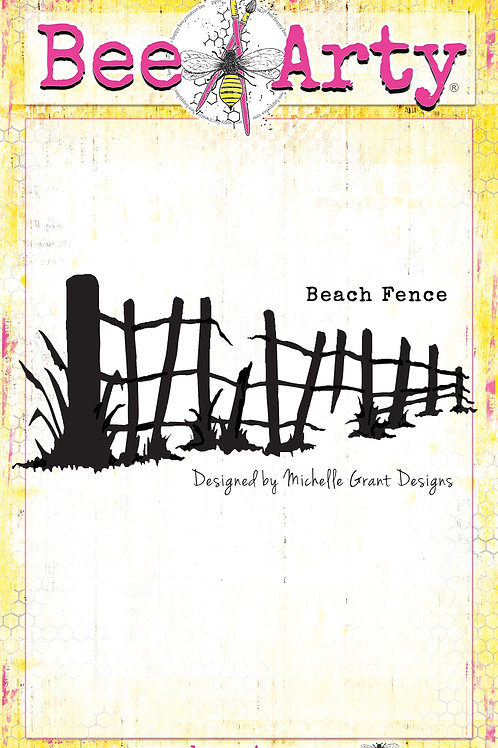 Bee Arty - Life's a Beach - Beach Fence Metal Die