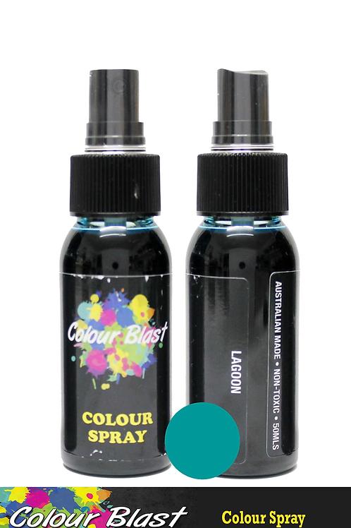 Colour Blast by Bee Arty Colour Spray - Lagoon