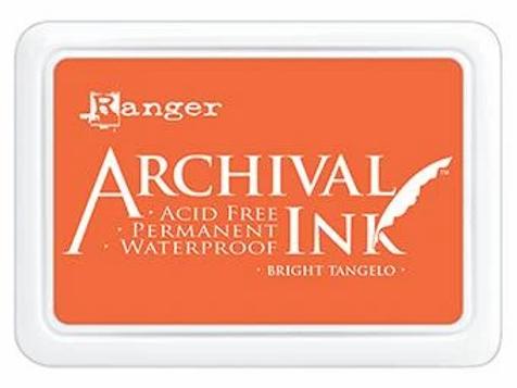 Ranger Archival Ink - Bright Tangelo