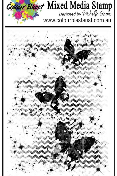 Bee Arty - Butterfly Stardust - Stardust Butterflies Stamp Set