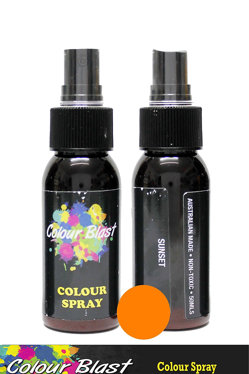 Colour Blast by Bee Arty Colour Spray - Sunset