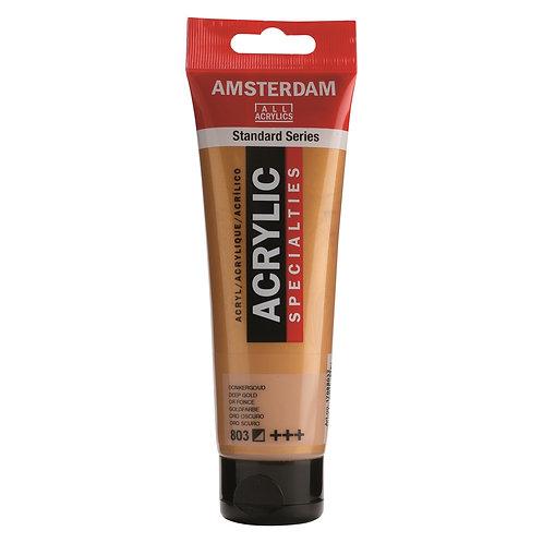 Amsterdam Standard Series Acrylic Paint - Deep Gold