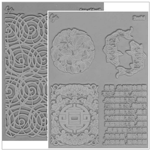 Lisa Pavelka Texture Stamp - Round About