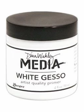 Dina Wakely Media - White Gesso